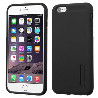 Insten Hard Silicone/ PC Dual Layer Hybrid Rubberized Matte Case Cover for Apple iPhone 6 Plus/ 6s Plus