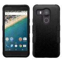 Insten Tuff Hard PC/ Silicone Dual Layer Hybrid Rubberized Matte Case Cover for LG Google Nexus 5X