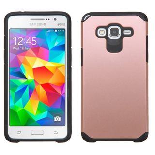 Insten Hard PC/ Silicone Dual Layer Hybrid Rubberized Matte Case Cover for Samsung Galaxy Grand Prime