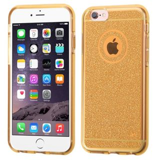 Insten Glittering TPU Rubber Candy Skin Case Cover for Apple iPhone 6 Plus/ 6s Plus