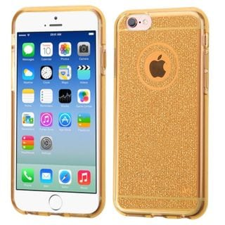 Insten Glittering TPU Rubber Candy Skin Case Cover For Apple iPhone 6/ 6s