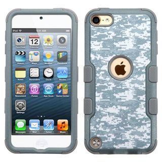 Insten Camouflage Tuff Hard PC/ Silicone Dual Layer Hybrid Case Cover for Apple iPod Touch 5th Gen/ 6th Gen