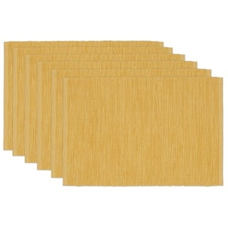 Honey Mustard Tonal Placemat (Set of 6)
