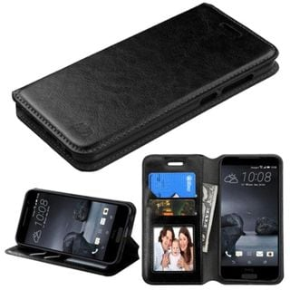 Insten Leather Case Cover with Stand/ Wallet Flap Pouch for HTC One A9