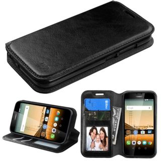 Insten Leather Case Cover with Stand/ Wallet Flap Pouch for Huawei Union
