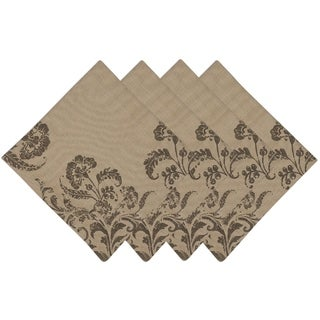 French Scroll Printed Napkin (Set of 4)