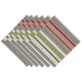 Mediterranean Stripe Napkin (Set of 6)