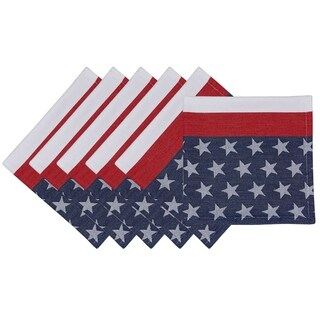 Flag Stripe Jacquard Napkin (Set of 6)