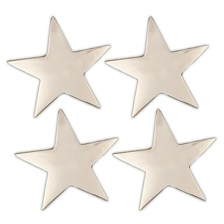 5-point Silver Star Napkin Ring (Set of 4)