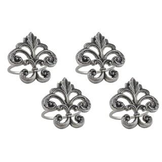 Fleur De Lis Napkin Ring (Set of 4)