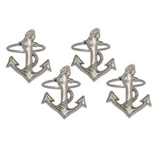 Anchor Napkin Ring (Set of 4)