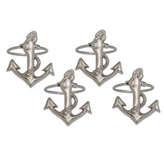 Anchor Napkin Ring (Set of 4)