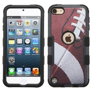 Insten Football Tuff Hard PC/ Silicone Dual Layer Hybrid Case Cover for Apple iPod Touch 5th Gen/ 6th Gen