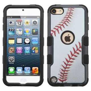 Insten Baseball Tuff Hard PC/ Silicone Dual Layer Hybrid Case Cover for Apple iPod Touch 5th Gen/ 6th Gen