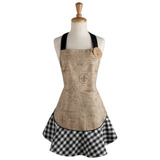 Fleur De Lis Apron|https://ak1.ostkcdn.com/images/products/11503302/P18455041.jpg?impolicy=medium