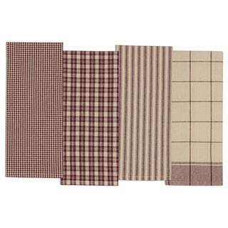 Plum Dishtowel Set