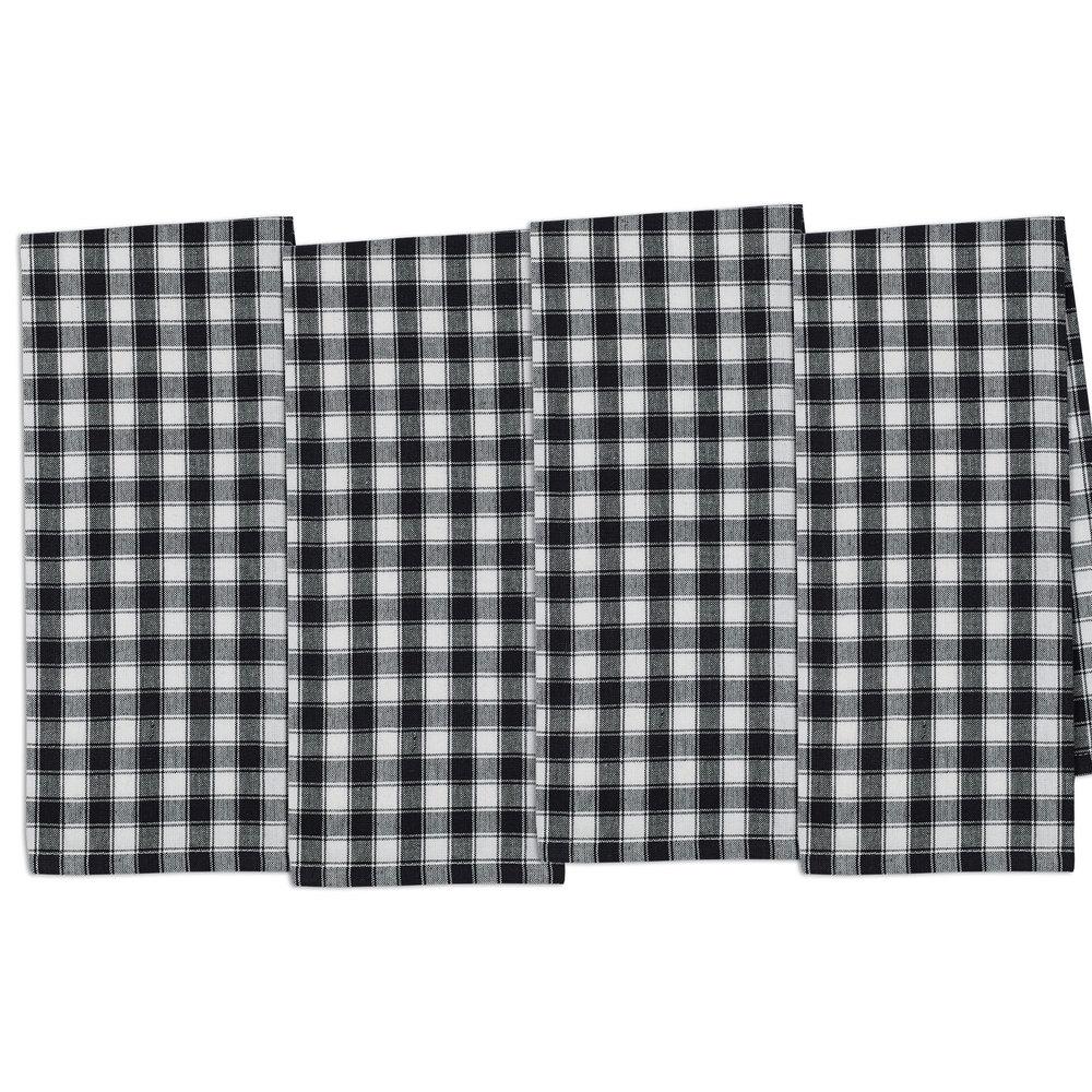 Shop French Check Dishtowel Set - Overstock - 11503332
