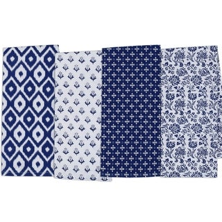 Blue Market Dishtowel Set