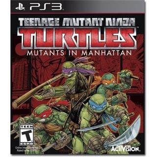 Teenage Mutant Ninja Turtles: Mutants in Manhattan For PS3