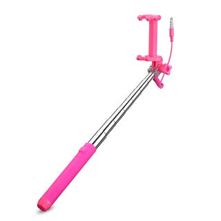 Mpow Selfie Stick, Mini Portable Monopod with 3.5mm Wire Connecting for Android/IOS Phone/Gopro Camera
