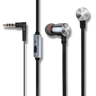 Mpow Earphones, Premium 3.5mm Handsfree Earbuds with Mic, Dual Speakers, Stereo Headphones for iPod/iPad/Smartphones/Tablets/MP3