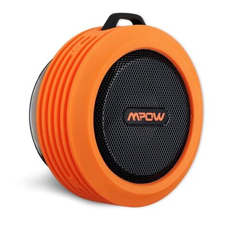 Mpow Buckler Portable Waterproof, Wireless Bluetooth Shower Speaker