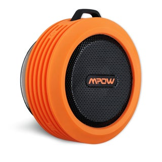 Mpow Buckler Portable Waterproof, Wireless Bluetooth Shower Speaker