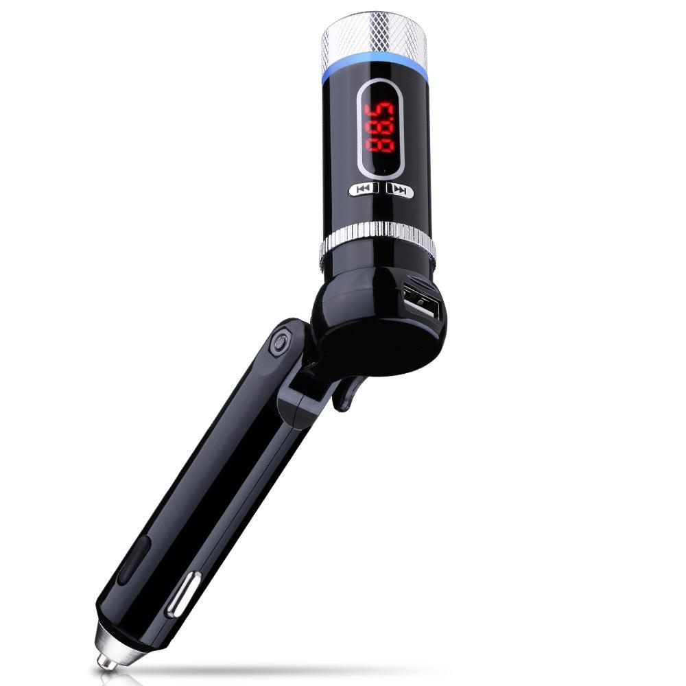 Mpow Upgraded Streambot Z In-Car Wireless Bluetooth FM Tr...