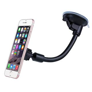 Mpow Grip Magnet Universal Windshield Car Mount Holder with Metal Plate for iPhone and Other Smartphones|https://ak1.ostkcdn.com/images/products/11504628/P18456146.jpg?impolicy=medium