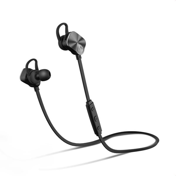 70660681ace Mpow Bluetooth Headphones V4.1 Wireless Sport Headphones Noise Cancelling  In-ear Stereo Earbuds