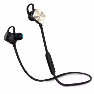 Mpow Wolverine Bluetooth 4.1 Wireless Sports Headphones, In-ear Running Jogging Stereo Headsets, Gold (Option: Gold)