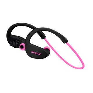Mpow Cheetah Bluetooth V4.1 Pink Nano-coating Sweatproof Sport Headphones