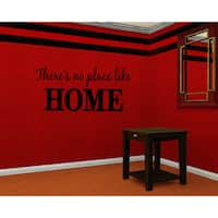 No Place Like Home Wall Art Sticker Decal