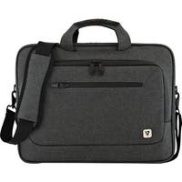"""V7 CTPX1-1N Carrying Case (Briefcase) for 15.6"""" Notebook - Gray"""