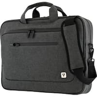 """V7 CTPX6-1N Carrying Case (Briefcase) for 14.1"""" Notebook - Gray"""