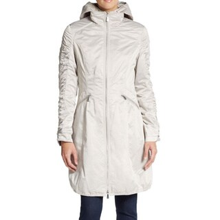 Dawn Levy Silver Cali Packable Rain Jacket