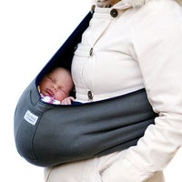 Shop Hugamonkey Baby Sling In Black Free Shipping On Orders Over