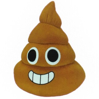 Classic Toy Company Turdley the Poo Emoji Toy