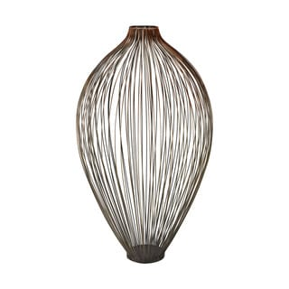 Sterling Home Thrum 23-Inch Vase In Copper Ombre