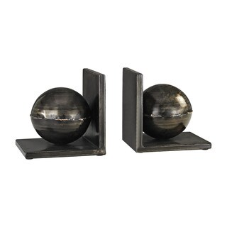 Dimond Home Fugue Holmes Bronze 6-Inch Set of 2 Metal Bookends