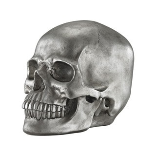 Dimond Home Knell Silver Skull