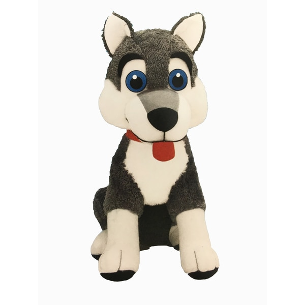 Classic Toy Company Hiram the Husky Plush Toy