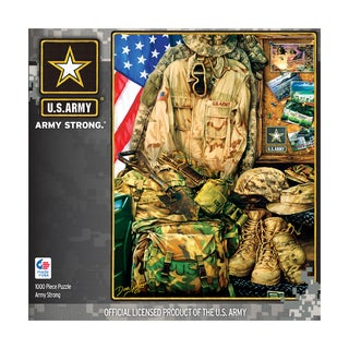 Hometown Heroes - Army Strong: 1000 Pcs