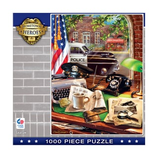 Hometown Heroes Local Law 1000-piece Puzzle