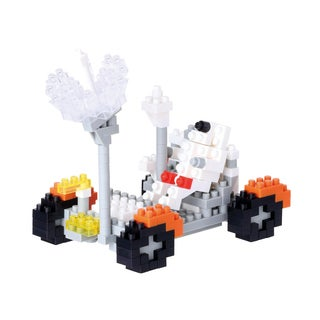 Nanoblock Level 3 Lunar Vehicle 250-piece 3D Puzzle