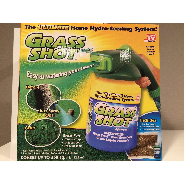 Shop Grass Shot Ultimate Home Hydro Seeding System Liquid Spray