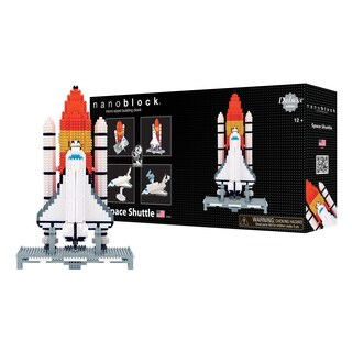 nanoblock® Deluxe Edition Level 6 - Space Shuttle: 1600 Pcs
