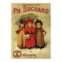 PH. Suchard Vintage Poster Jigsaw 1000-piece Puzzle