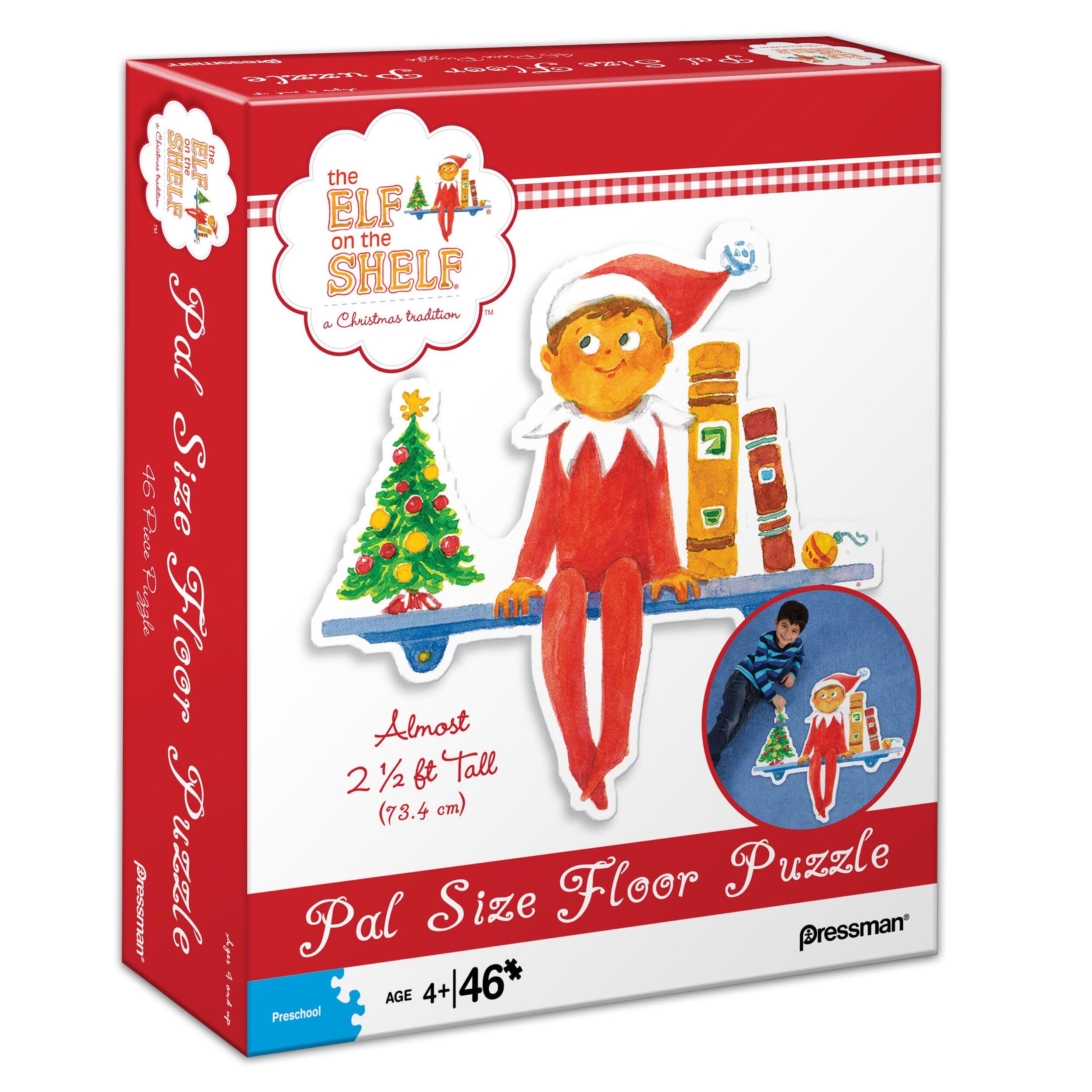Pressman Toy The Elf on the Shelf Pal Size Floor Puzzle: ...
