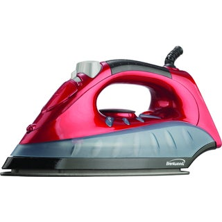Brentwood MPI-61 Red Non-Stick Steam/ Dry/ Spray Iron